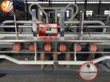 Dispositivo di piegatura ondulato automatico ad alta velocità Gluer della casella e cucitrice