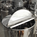 Roestvrij staal die Mengt Tank voor Voedsel/Drank/Geneesmiddel verwarmen
