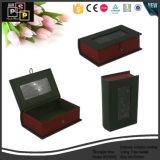 Commerce de gros Vente chaude personnalisé coffret à bijoux en cuir avec Sedex Certificat (5256)