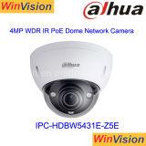 Grand appareil-photo extérieur d'IP de Poe de dôme de l'action Ipc-Hdbw5431e-Z5 Dahua H. 265 4MP WDR IR