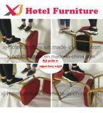 Cuero antiguo silla de comedor de banquetes/hotel/restaurante al aire libre