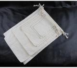 Sacos de Drawstring feitos sob encomenda relativos à promoção da lona para o armazenamento/esportes/sapata