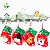 작은 크리스마스는 크리스마스 나무 크리스마스 선물 사탕 Decortion 펀던트 부대를 친다