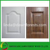 porta de gabinete da cozinha do MDF de Thermofoil da película do PVC da alta qualidade de 16mm