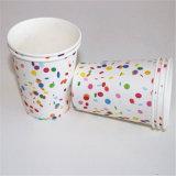 Punto multicolores Papel de impresión ecológica copas y pajas de fiesta