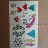 Tatuaggio ecologico del fumetto dei capretti, autoadesivo provvisorio del tatuaggio per i bambini