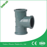 Sistema Drainge de boa qualidade tubo de PVC com acoplamento de borracha