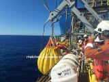 35 tonnes de poids de l'eau des sacs pour la grue et Davit test
