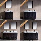 Voeden-1069e Kabinetten van de Badkamers van het Kwarts van de Gootstenen van 48 Duim de Goedkope Dubbele Hoogste Moderne