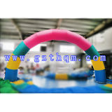 膨脹可能なAdvertizing ArchかRainbow Inflatable ArchまたはオックスフォードCloth Inflatable Arch