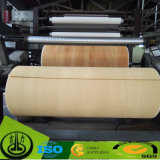 Бумага PU декоративная с деревянным цветом зерна для пола