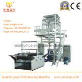 Machine de soufflement de pellicule de polyéthylène de serre chaude de Double couche