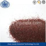 Van het chloride van de Inhoud 0.01/Red Color/SGS- Certificaat/het Hoge Zand 2040 van de Granaat van de Hardheid voor de Filtratie van het Water