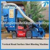 Stahlplatten-Rostbeseitigung-Stein-konkrete Reinigungs-Granaliengebläse-Maschine