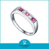 Ajuste Bezzel Vintage anillos de compromiso