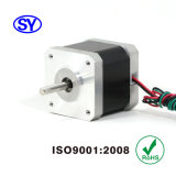 42 mm (NEMA17) 2 Phase elektrischer Steppermotor für CCTV