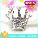 2016ヨーロッパのチェコの水晶十字の王冠の銀のブローチ