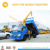 熱い販売の持ち上げ装置10トンのトラッククレーンクレーン車