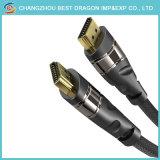 Gold überzogenes HDMI dem Mann zu des HDMI Kabel-1.5m zum Mann