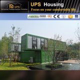 Casa Prefab do recipiente do jogo modular novo do projeto com decorações luxuosas