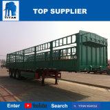 Welle des Titan-Fahrzeug-3 60 Tonnen-Ladung-LKW-Schlussteil-Wände