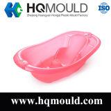 Hqのプラスチック赤ん坊の浴槽のバケツの注入型