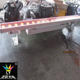 DMX 18X12W 옥외 RGBW LED 벽 세탁기