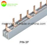 Tipo barra elétrica 100A do Pin da alta qualidade do pente de 3p