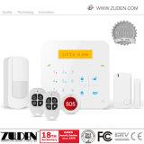 GSM van het huis het Draadloze Alarm van de Indringer van de Inbreker met Androïde & Ios APP Verrichting
