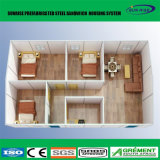 Hogar modular prefabricado prefabricado modificado para requisitos particulares de la construcción de viviendas del chalet con el vidrio