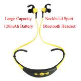 Lang Reserve Gebruikend de Hoofdtelefoon van Bluetooth van de Sport van het Halsboord van de Tijd 180mAh V4.0
