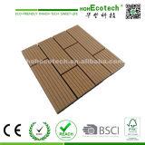Плитка плитки WPC DIY славной картины деревянная пластичная составная блокируя