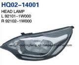 Lampada capa di alta qualità per la berlina 2012 di KIA Rio