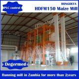Moulin de rouleau de maïs de l'Afrique, moulin à farine de maïs, fraiseuse de meulage de maïs