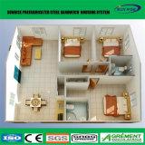 Cabine de logarithme naturel portative pour l'hôtel mobile, maisons résidentielles préfabriquées