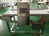 Cinta transportadora de acero inoxidable detector de metales de alimentos