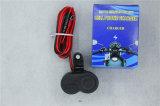 Caricatore del USB del motociclo con lo zoccolo di potere dell'indicatore luminoso della sigaretta impermeabile (122)