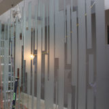 Película decorativa de la puerta de la ventana de cristal de la película de la helada de ventana del PVC
