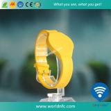 Custom Logo 13,56 MHz étanche Ntag213 RFID bracelet en silicone