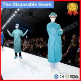 WegwerfNon-Woven/PP/PE/PP+PE/SMS/CPE chirurgisches Kleid