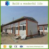 Premade 박공 지붕 알제리아에 있는 Prefabricated PVC 집 별장