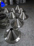 フランジを付けたようになるポーランドの溶接ホッパーステンレス製の鋼鉄漏斗