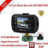 Novo DVR Box Black Box 1.5inch com Full HD1080p Ntk96620 Video Chipset, Sensor G de 3 Eixos, Detecção de Movimento, 5.0mega Ommivision Optical Car Camera DVR-1502