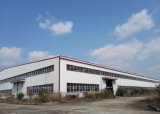 Construction en acier normale à charpente d'acier pour l'atelier et l'usine d'entrepôt