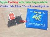 Sacchetto piano di nylon con il sacchetto esterno in una fabbrica di anni del modello di macchina Dxd01ys80//31 per la macchina imballatrice della bustina di tè