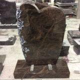 Pierres tombales en granit de Rose Aurora sculptées à la main