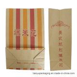 Vintage palomitas de maíz la bolsa de papel Kraft, palomitas de maíz bolsas económicas