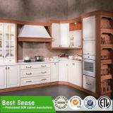 Porta de madeira maciça para armários de cozinha armário