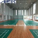 De goede Sporten die van pvc van de Elasticiteit BinnenHof vloeren die de Dikte van 4.5mm vloeren