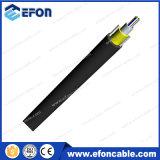 câble aérien de /Armored de transmission de 2-24core Unitube Fig8 de câble autosuffisant/câble fibre optique (GYFXY-2)